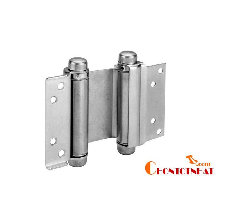 Bản lề mở hai chiều là một mẫu bản lề cao cấp thường được sử dụng cho những loại cửa có tần suất đóng mở nhiều