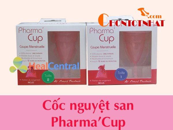Các kích thước của cốc nguyệt san Pharma Cup hiện nay