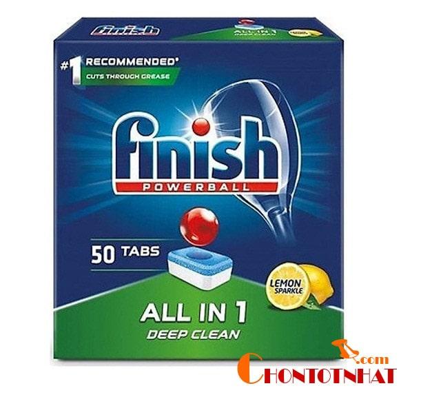 Viên rửa chén Finish dùng có tốt và sạch không?