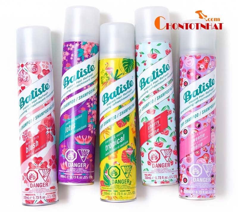Dầu gội khô Batiste Dry Shampoo