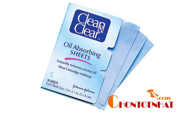 Giấy kiềm dầu Clean & Clear