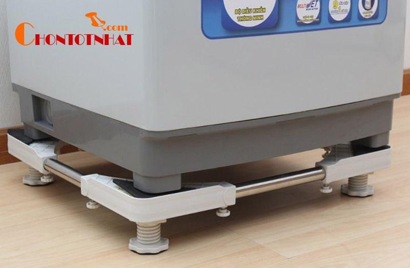 Chân kê máy giặt Kibath là loại phụ kiện thích hợp cho tất cả các dòng máy giặt từ 6 đến 9kg