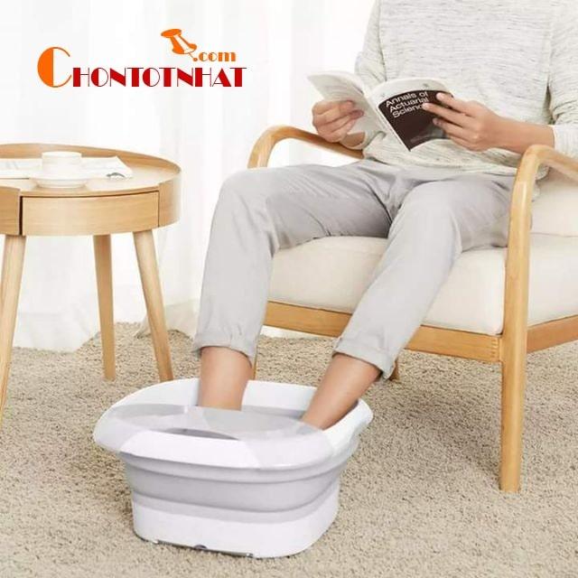 Sử dụng máy massage chân chính là một trong những giải pháp xoa bóp hiệu quả và tiết kiệm nhất