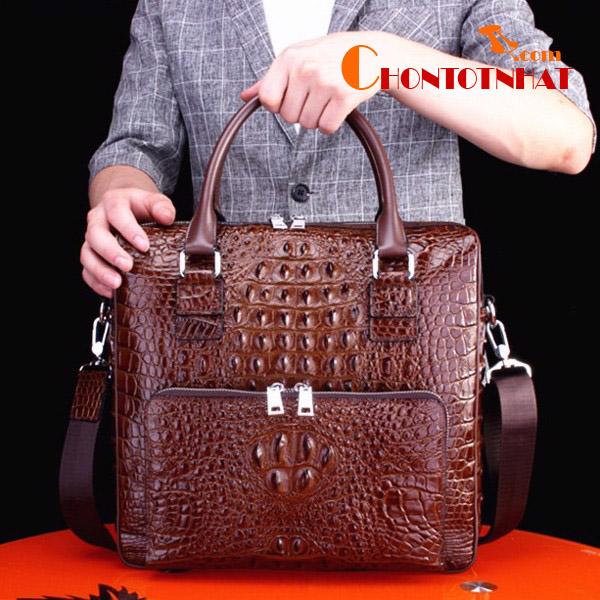 Túi xách đẹp da cá sấu