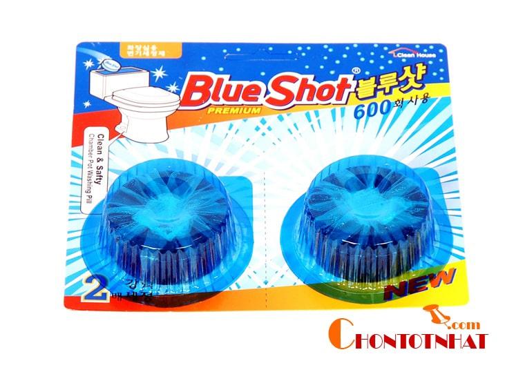 Viên tẩy bồn cầu Blue Shot