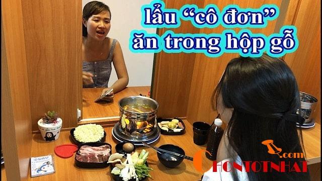 Lẩu hải sản dành cho một người tại Hà Nội