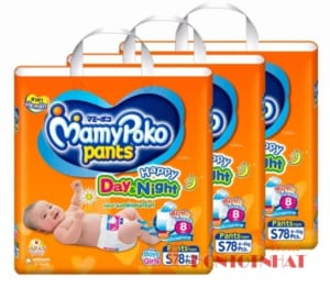 Bỉm MamyPoko là sự lựa chọn của nhiều bà mẹ