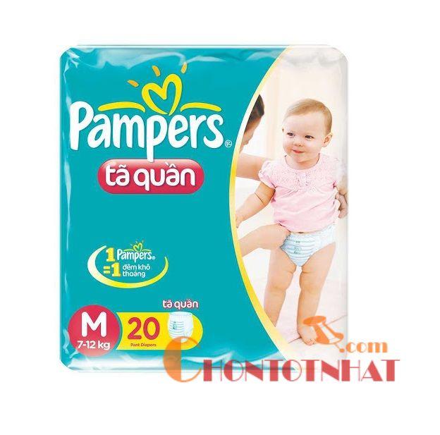 Bỉm Pamper là một sự lựa chọn không thể bỏ qua