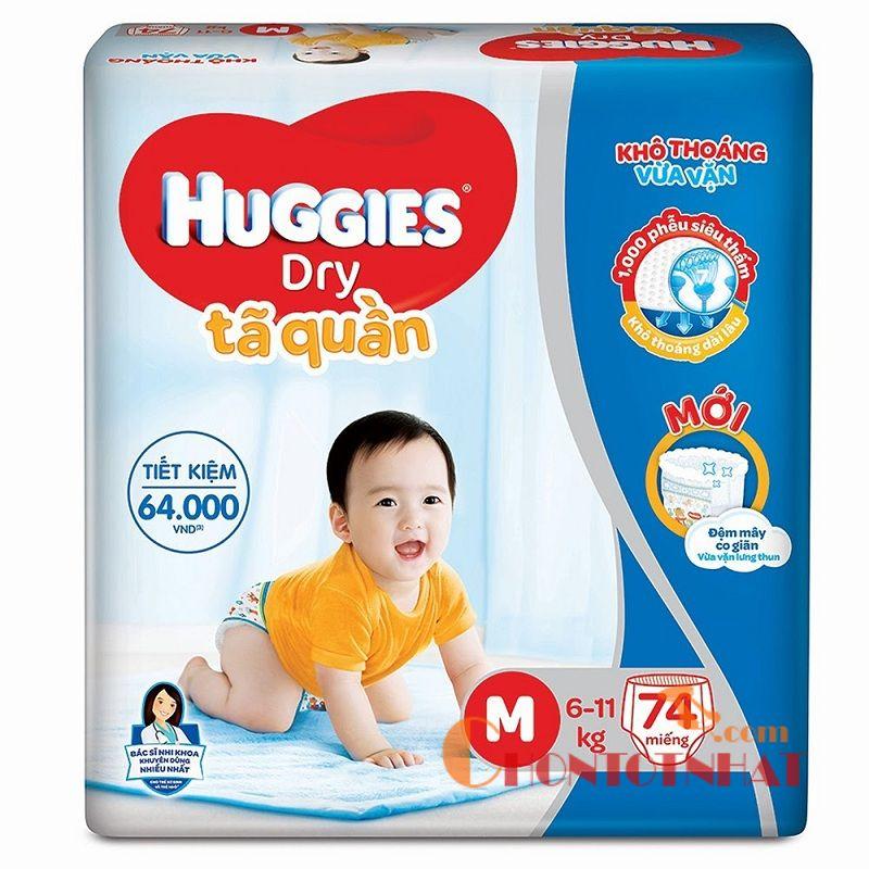 Bỉm nào tốt cho trẻ sơ sinh? Huggies là cái tên sáng giá