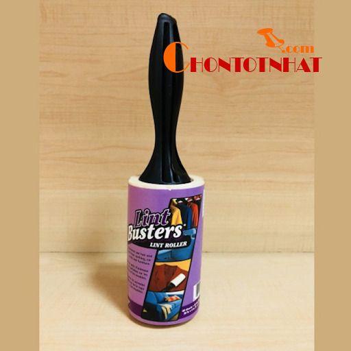 Cây lăn bụi quần áo Lint Busters 60 lớp rất dễ sử dụng