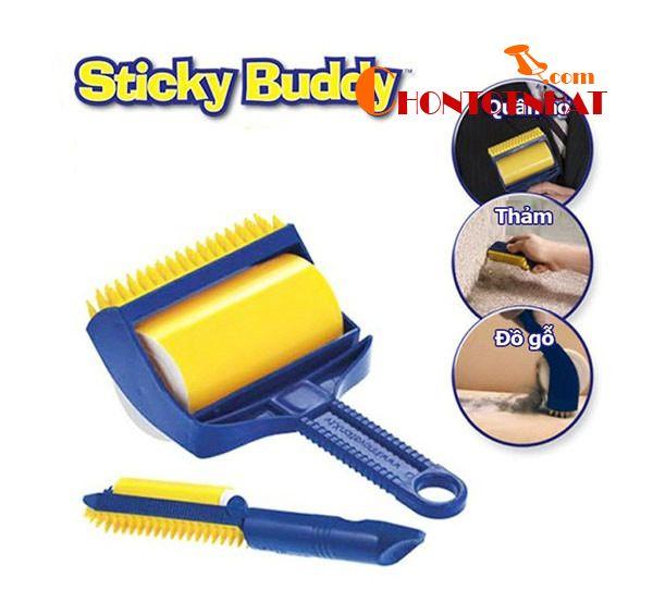 Cây lăn bụi quần áo đa năng Sticky Buddy