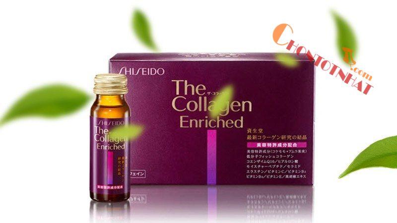 Collagen Shiseido Enriched có hàm lượng chất béo thấp