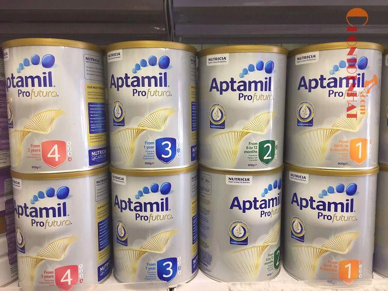 Sữa Aptamil công thức profutura của Úc