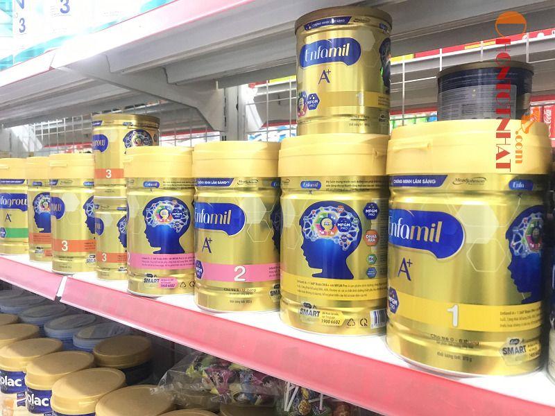 Sữa Enfamil số 1 được nhiều bà mẹ tin dùng