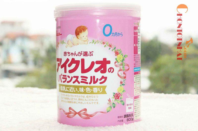 Sữa Glico Icreo số 0 rất nổi tiếng tại Nhật Bản