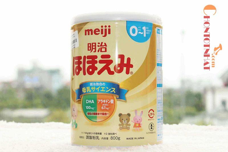 Sữa Meiji giúp phát triển chiều cao cho trẻ rất tốt