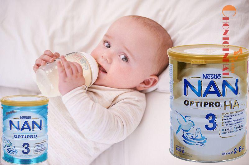 Sữa Nan dành cho trẻ sơ sinh - sữa NAN Optipro