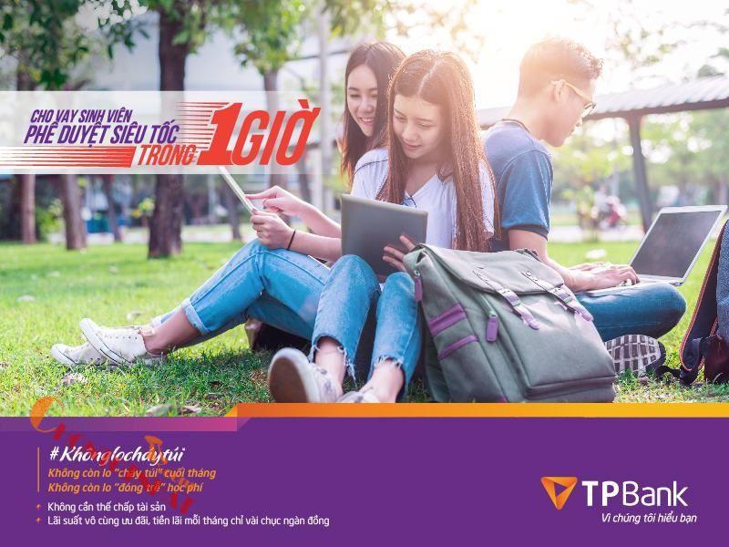 TPBank cho sinh viên vay tiền với lãi suất thấp
