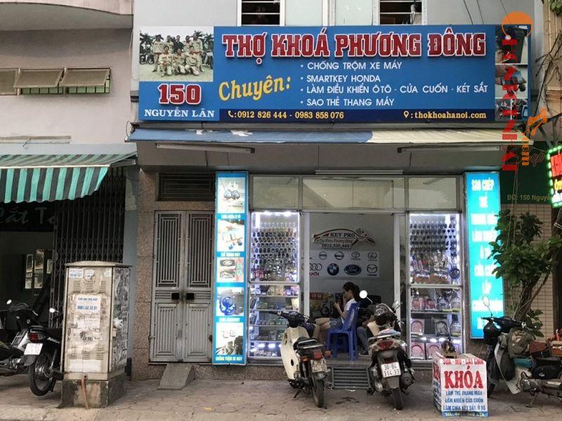 Đơn vị sửa khóa Phương Đông có nhiều cơ sở hoạt động khác nhau không chỉ tại Hà Nội