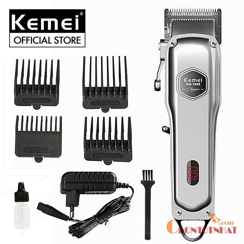 Tông đơ cắt tóc cho bé loại Kemei 1998 có tiếng không quá to khi hoạt động
