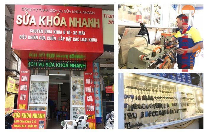 Top 10 đơn vị sửa khóa xe máy tại nhà chuyên nghiệp giá tốt tại Hà Nội - Sửa Khóa Nhanh