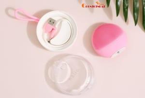 Máy rửa mặt và chăm sóc da nhạy cảm Halio Sensitive Baby Pink