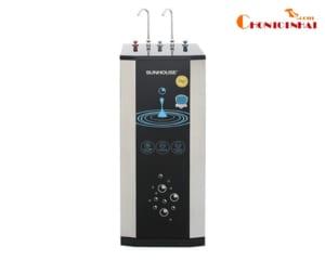 Máy lọc nước RO nóng nguội lạnh Sunhouse SHR76210CK 10 lõi