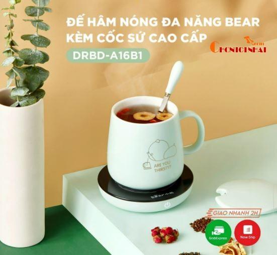 Đế hâm nóng giữ nhiệt đồ uống Bear