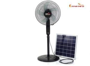 Quạt năng lượng mặt trời - Quạt cây tích điện 2 trong 1 Suntek S88