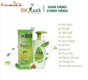 Sữa tắm thảo dược cao cấp Yaocare Baby Plus