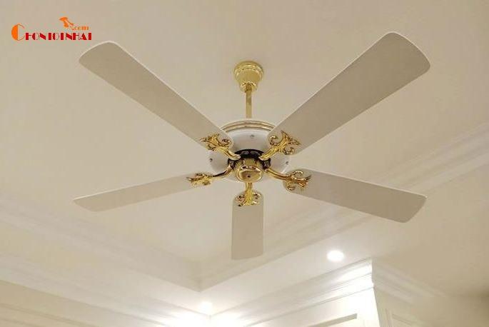 Quạt trần cánh gỗ Kim Thuận Phong KN05 - 5 cánh