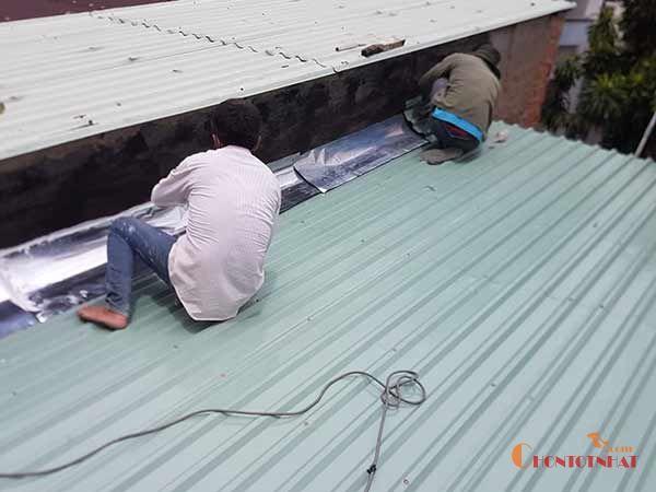 Công ty thi công mái tôn Ngọc Hoàng Plaza