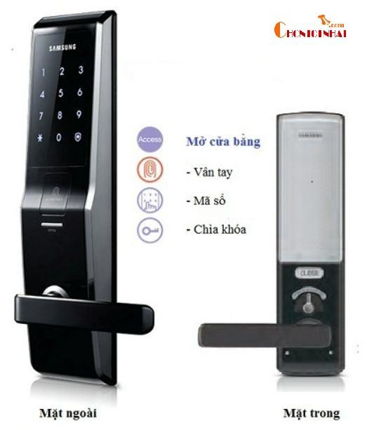 Hệ thống mở khóa cửa hiện đại được tích hợp nhiều tính năng
