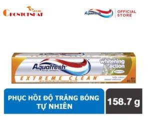Kem đánh răng Aquafresh Extreme Clean Whitening Action 158.7 gr