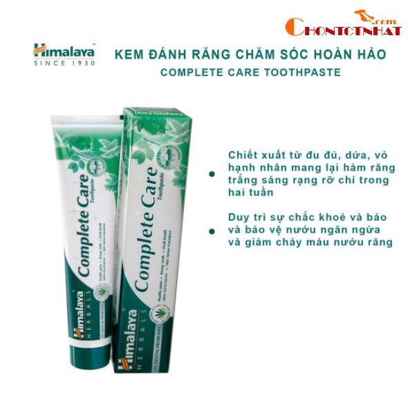 Kem đánh răng bảo vệ nướu Himalaya Complete Care Toothpaste 100g