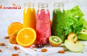 Nước ép trái cây với rất nhiều lợi ích tuyệt vời cho sức khỏe