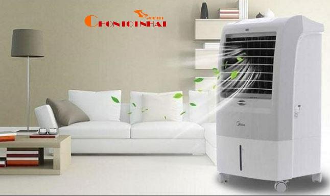 Quạt điều hòa hay còn gọi là Quạt hơi nước, máy làm mát hơi nước,điều hòa hơi nước