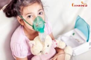 Máy thở khí dung có tác dụng thẩm thấu vào các phế nang,phế quản để phát huy tác dụng tốt nhất của thuốc.